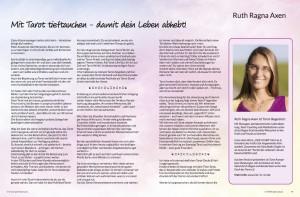 Artikel_Mit Tarot tieftauchen…(One Spirit eMagazin S.68f)
