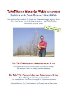 2018-06 Taketina mit Alexander Weide_Vorderseite