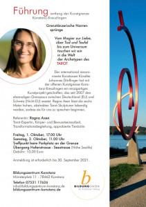 21-10 Tarot-Führung Kunstgrenze mit Ragna